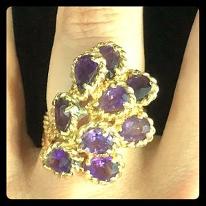 14kt yellow gold vintage ring